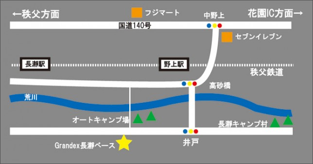 キャンプ場map