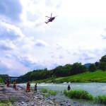 『平成27年 官民合同水難救助訓練』が埼玉県長瀞町の荒川で開催されました!