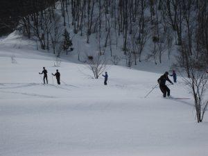 雪中キャンプ