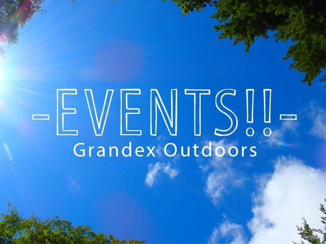 グランデックス2017年上半期アウトドアイベント